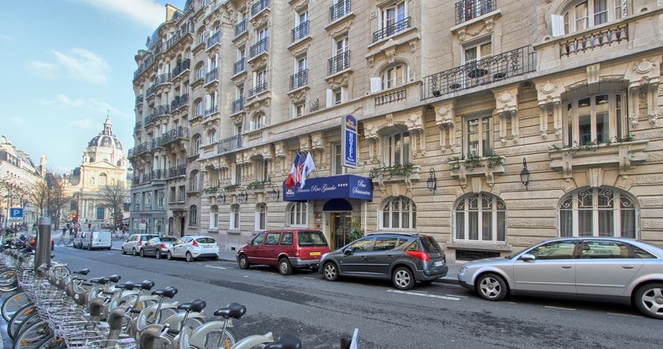 best western hotel trianon rive gauche paris site