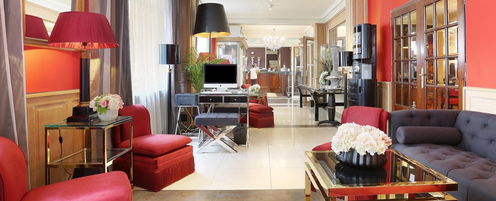 Trianon Rive Gauche Paris Hotel Official webite Saint