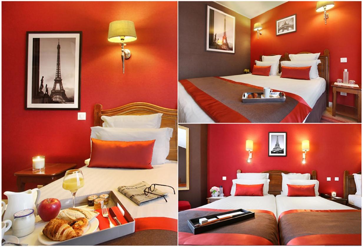Hotel Trianon Rive Gauche Paris.