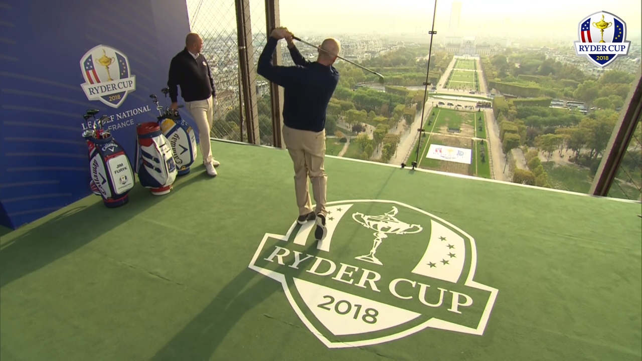 Ryder Cup France 2018 - Tour Eiffel