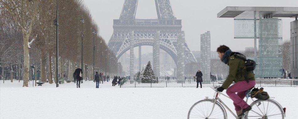 visiter paris en hiver